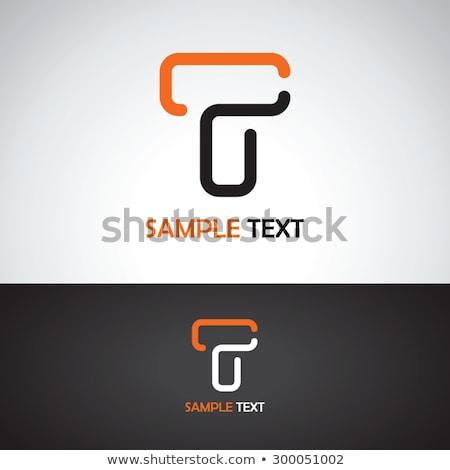 элегантный · дизайн · логотипа · 10 · бизнеса · аннотация · металл - Сток-фото © sdcrea