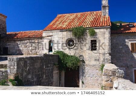 Черногория Церкви стены традиционный небе Сток-фото © joyr