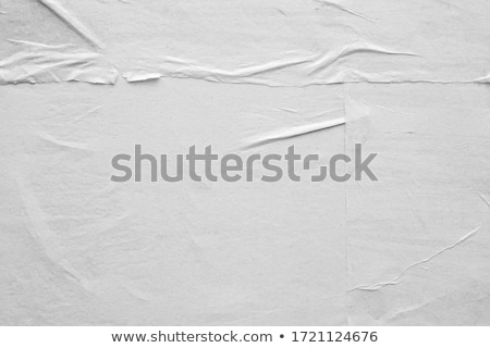 アップ 紙 作品 ノートブック ボール 白 ストックフォト © icemanj