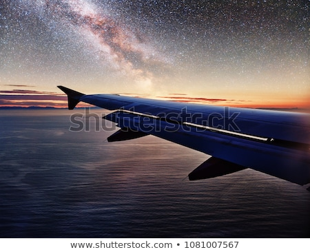 Airliner at night Stock photo © tracer