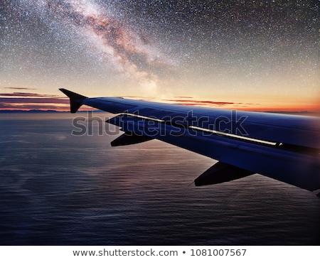 illusztráció · nagy · repülőgép · technológia · repülőgép · sebesség - stock fotó © tracer
