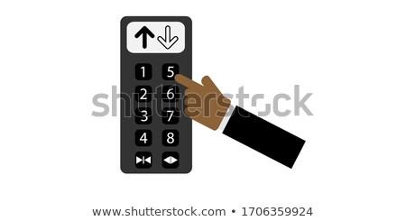 3D · mão · cursor · mlm · botão · 3d · render - foto stock © tashatuvango