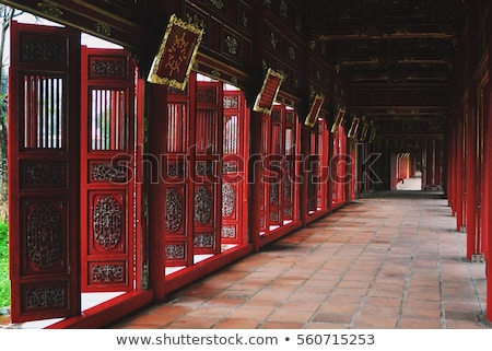 Hue Citadel, culture heritage, detail, vietnam Stock photo © xuanhuongho