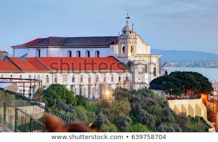 教会 リスボン ポルトガル 家 市 旅行 ストックフォト © benkrut