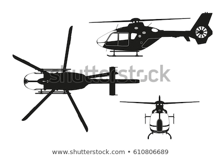 Stock photo: Helicopter Front illustration clip-art image vector