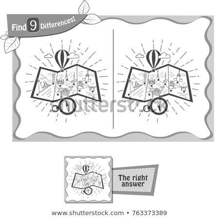 地図 · 実例 · 子供 · 食品 · 男 · 芸術 - ストックフォト © olena