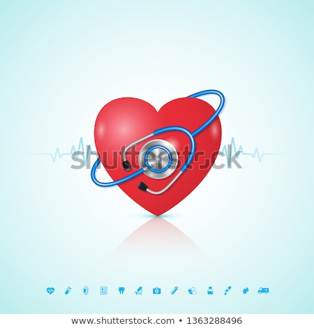 vector · menselijke · hart · medische · symbool · cardiologie - stockfoto © krisdog