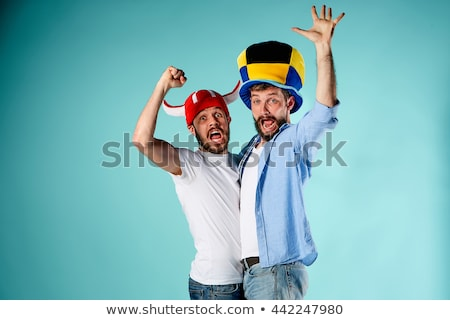 Two men friends crying Stock photo © rogistok