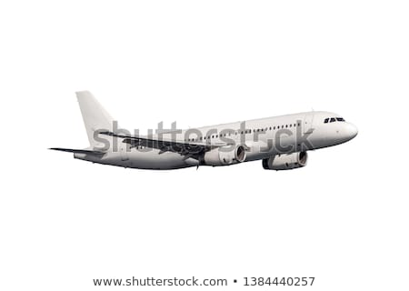 commercial airplane on white background  Stock photo © ssuaphoto