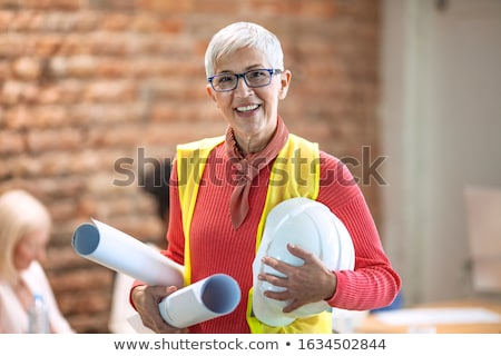 portrait of individual architect stock photo © is2