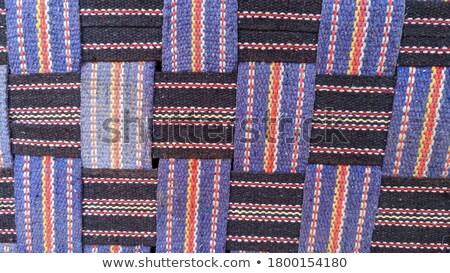 making handmade carpets from a rope stock photo © oleksandro