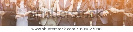 business team banner stock photo © genestro