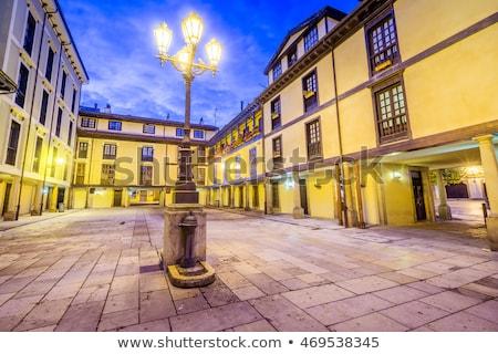 Mercato Spagna cielo città blu architettura Foto d'archivio © lunamarina