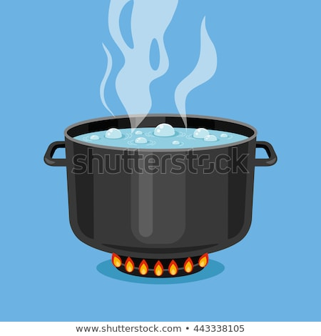 Cooking Steam Bubbles Illustration Stock photo © lenm