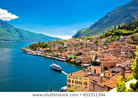 Torre lago vista región Italia Foto stock © xbrchx
