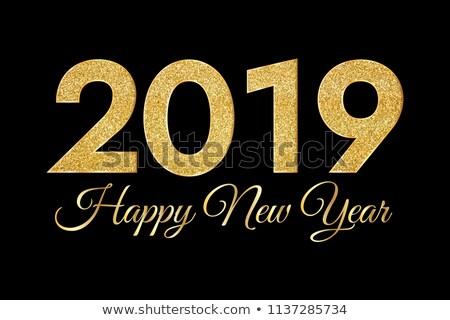 Golden 2019 Night Stock photo © limbi007