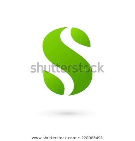 手紙 葉 ロゴ ベクトル ロゴタイプ アイコン ストックフォト © blaskorizov