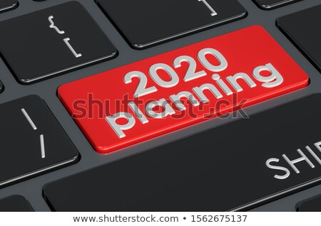event management   text on red keyboard key 3d stock photo © tashatuvango