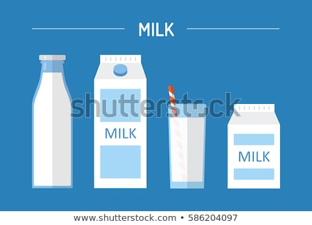 Milk Cartons and Bottle Stock photo © bluering