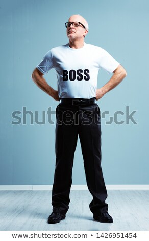 Supercilious haughty Boss stereotype Stock photo © Giulio_Fornasar