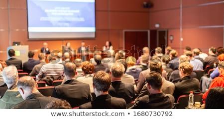 Affaires séminaire personnes conférence réunion homme Photo stock © robuart