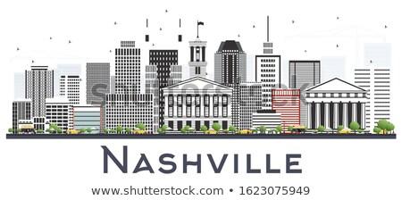 Теннесси Cityscape Skyline центра здании Сток-фото © Winner