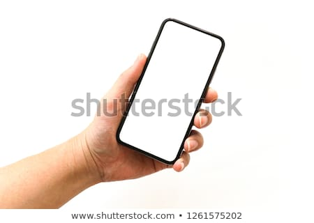 Hand charging phone Stock photo © ra2studio