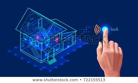 Inteligentes casa aplicación interfaz compuesto digital ordenador Foto stock © wavebreak_media