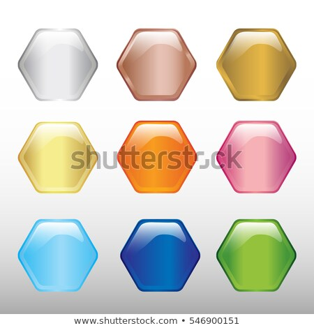Black Glossy Embossed Hexagon Background Vector Illustration Stock photo © cidepix