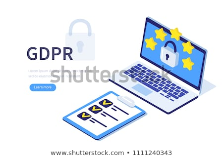 General data protection regulation concept vector illustration. Stock photo © RAStudio