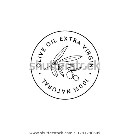 Olive Extra Virgin Organic Product Label Vector Stock photo © pikepicture