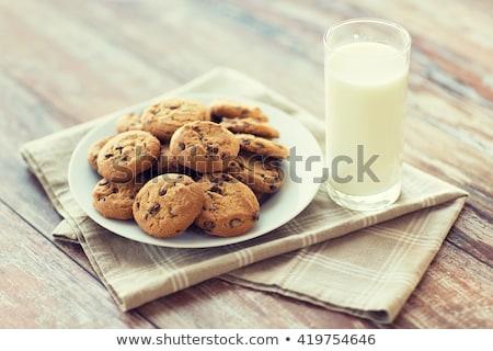 オートミール クッキー プレート 食品 食べ ストックフォト © dolgachov