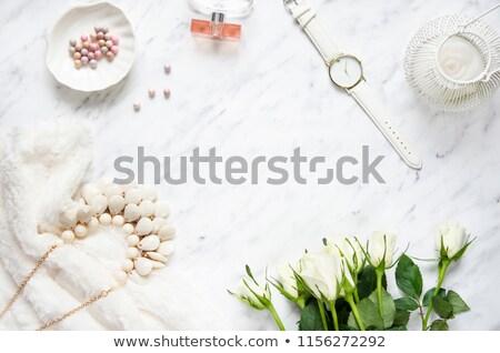 bridal wedding accessories on dressing table Stock photo © ruslanshramko