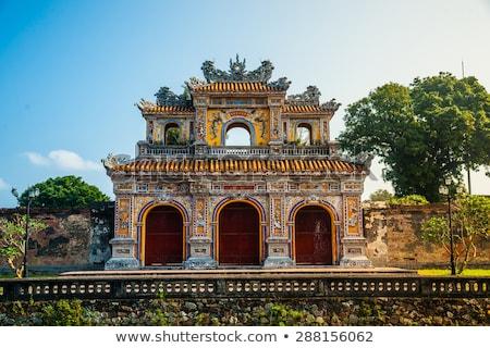 ворот цитадель Вьетнам королевский дворец Запретный город Сток-фото © bloodua