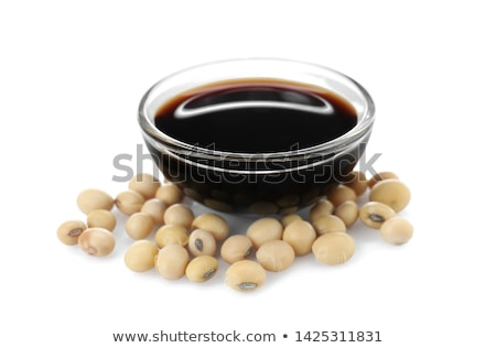 Soya Beans and Soy Sauce Stock photo © marilyna