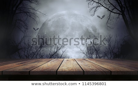 cmentarz · czaszki · scary · projektu · krzyż - zdjęcia stock © ancello