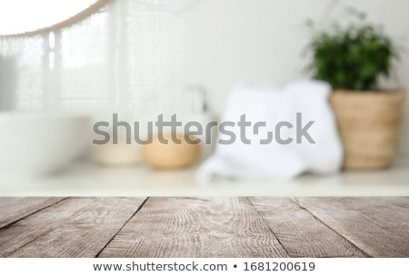 spa · display · badkamer · licht · home · ontspannen - stockfoto © cardmaverick2