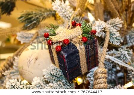new year tree triming stock photo © zastavkin
