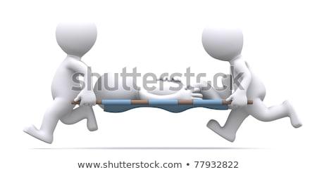 paciente · três · cirurgiões · mulher - foto stock © dacasdo