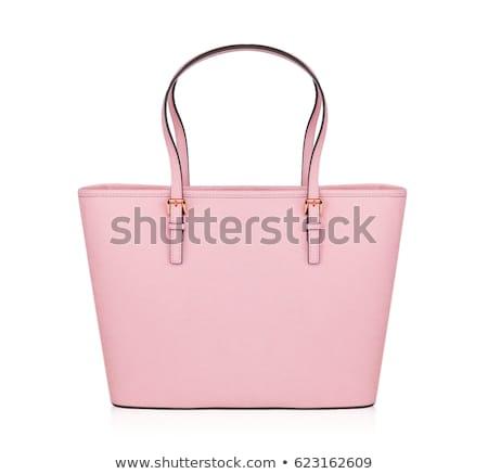 Odizolowany torebka pasa kobiet moda tle Zdjęcia stock © HASLOO