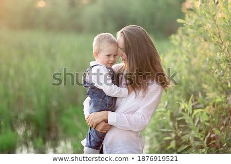 Mère jouer ans vieux fils famille Photo stock © photography33