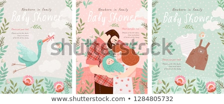 bebek · erkek · giysi · beyaz · doğum · günü · arka · plan - stok fotoğraf © neirfy