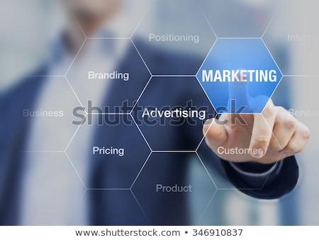 marketing · internet · woorden · business · computer · kunst - stockfoto © Ansonstock