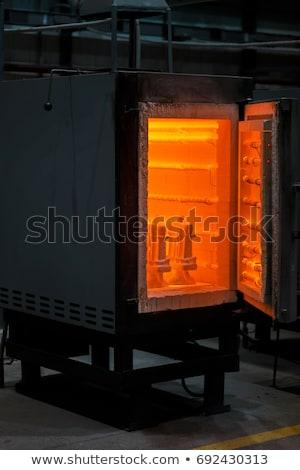 door to the furnace stock photo © marekusz