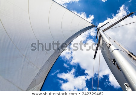 Sail on wind, and the sky Stock photo © inaquim