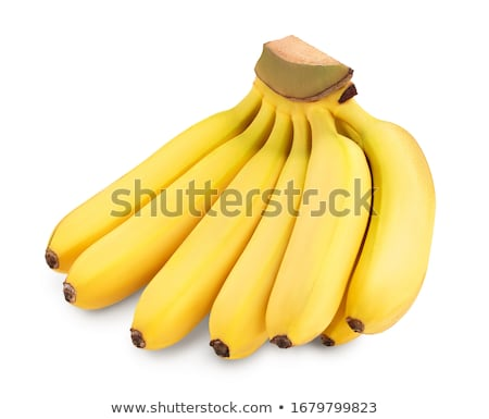 monte · bananas · isolado · branco · fruto · banana - foto stock © franky242