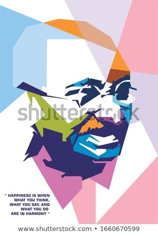 leader in colour 2 Stock photo © marinini