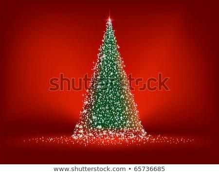 rosso · elegante · Natale · modello · eps · vettore - foto d'archivio © beholdereye