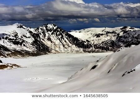 Аляска озеро север Америки воды лес Сток-фото © cboswell