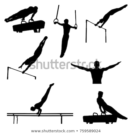Male Gymnast Stock photo © nickp37